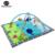 Esteira Do Jogo Do Bebê de verão de Algodão Puro Com Cremalheira Ginásio Infantil Tapete Tapetes de Jogo Macio Para Crianças Brinquedos Do Bebê