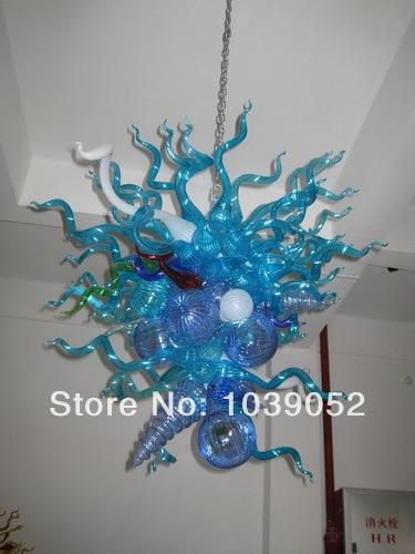 Motivated New Arrival Amber Art Blown Glass Hotel Chandelier Lights bgc2043 In Short Supply