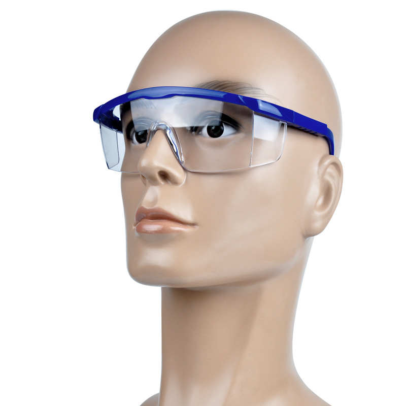 Safety Goggles Eyes Protection Labor Workplace Safety Supplies Clear Protective Glasses Wind and Dust Anti-fog Medical Use safurance protective glasses pc scratch safety ride movement wind and dust proof goggles workplace safety
