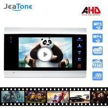 7 дюймов видео домофон 720 P/AHD видео-телефон двери безопасности Системы голосовые сообщения/Обнаружение движения(монитор только