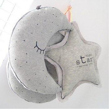 Clásico Luna almohada Infantil almohadas de la cama niño Coussin quarto infantil...