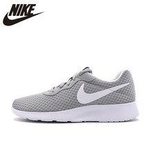 new concept d2aca cd6d5 NIKE Original New Arrival Tanjun Men s Running Shoes Roshe Run Gray Sneakers  Outdoor Walkng Jogging Sneakers 39-45