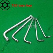 50 ピース合金鋼 T30 L タイプトルクス六角キーwrench spannerspanner typehex key wrench