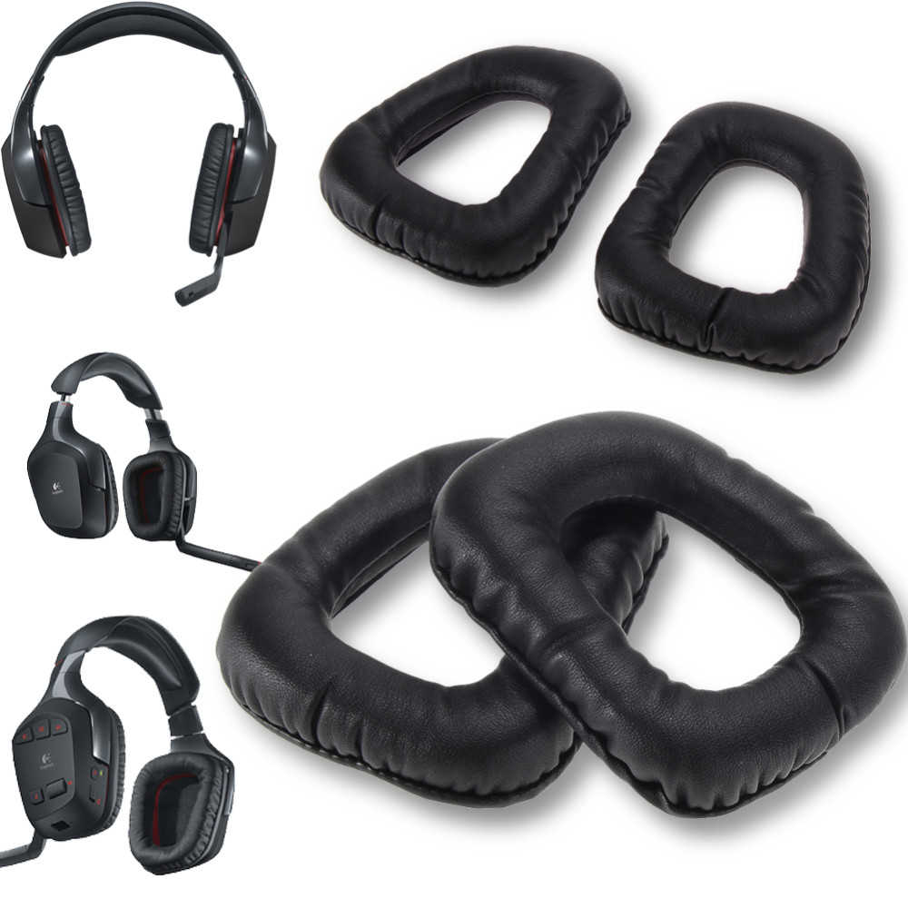 Ear Pads Earmuffs Cushions Foam Cover for Logitech G35 G930 G430 F450 Headphones