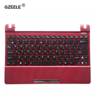 GZEELE Red C shell New Replace laptop keyboard For ASUS Eee PC SeaShell X101H X101CH X101 Red With C Cover Laptop Keyboard NEW
