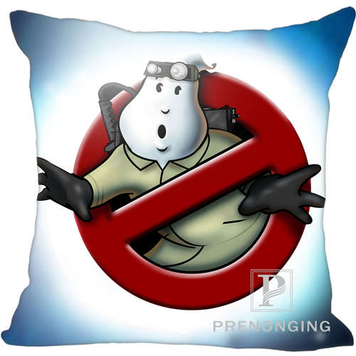 Custom Pillowcase Cover Ghostbusters Square Zipper Pillow Cover Print Your Pictures 20x20cm,35x35cm(one side) 171203#11-03