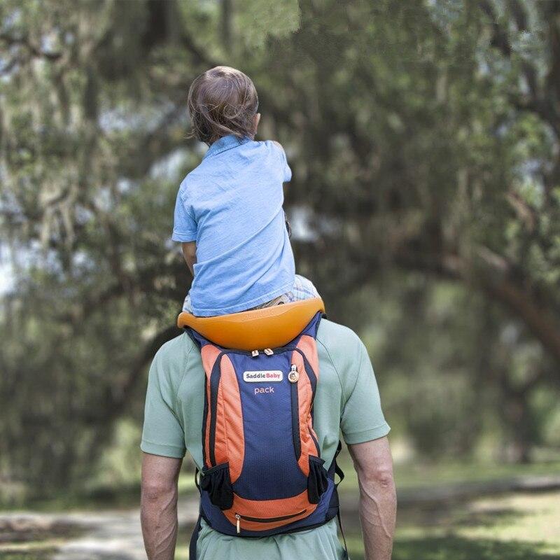 Przenośny dziecko transporter dla zwierząt dla dzieci Toddlr piesze wycieczki plecak plecak na zewnątrz bez użycia rąk na ramię przewoźników pasek górskie rama krzesło