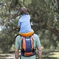 Tragbare Baby Reise träger Baby Toddlr Wandern Rucksack Outdoor Hände-Freies Schulter Träger Strap Bergsteigen Rahmen Stuhl