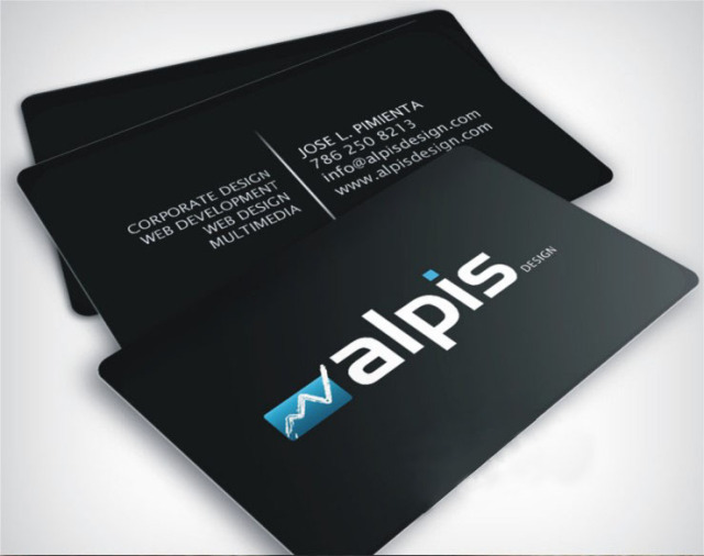 full colour plastic pvc business cards to both sides printed 038mm thickness top - Quality Business Cards
