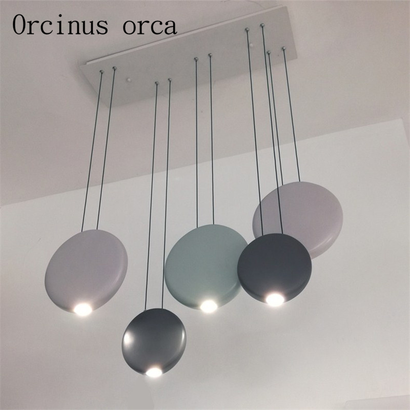 Nordic restaurant three chandelier creative personality lamps modern minimalist dining table Chandelier Postage free led chandelier modern minimalist dining room lamp chandelier three dining room personality table creative nordic lamps