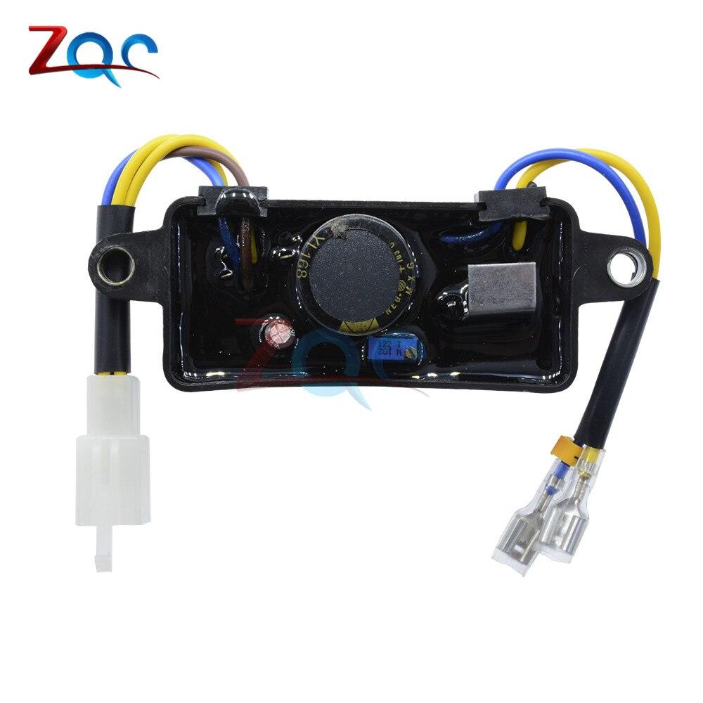 Voltage Regulator Rectifier Single Phase AVR For 2KW-3KW Generator Hot.