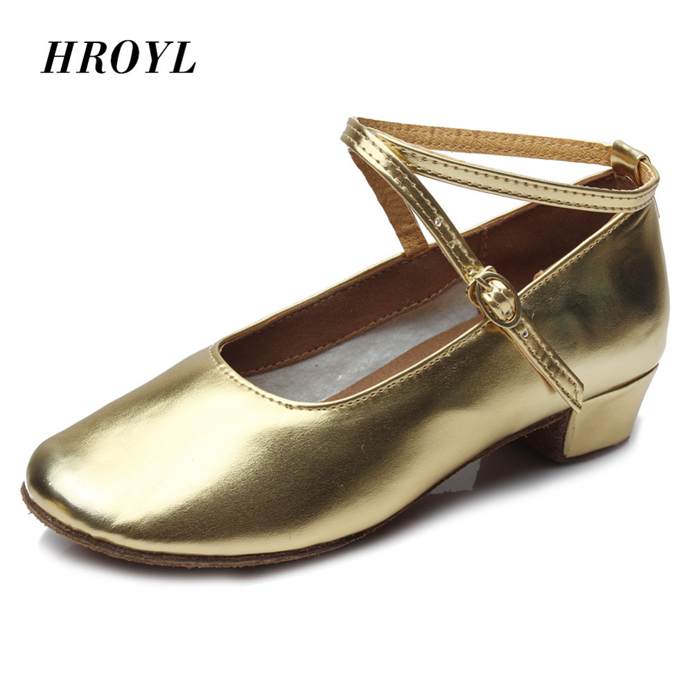 Close Toe Child/Girls Latin Dance Shoes Professional Ballroom Tango Dancing Shoes Heeled Salsa Shoes For Women Size 30-41