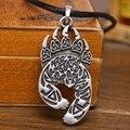1pc Slavic Amulet Veles Totem Pendant Antique Veles Bear Mount Charm Nordic Jewelry Talisman Pendant