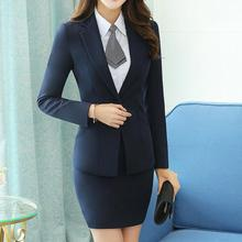 Red Gray Two Piece Ladies Formal Skirt Suit Office Business Uniform Designs Women Business Suits for work New Arrival