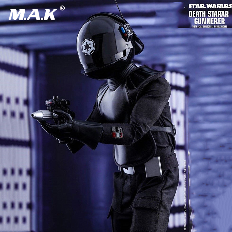 Collectible 1/6 Scale Action Figure MMS413 Death Star Gunner Full Set Collection Action Figure Doll Toys Gift zh005 1 6 scale knights of malta ancient medieval action figure soldier type 12 figure body for collection gift
