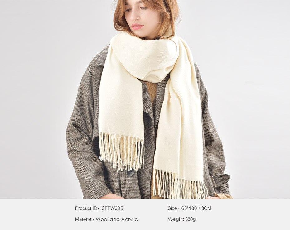 7488fa5bd70b FURTALK femmes d hiver écharpe en cachemire laine poncho foulards de ...
