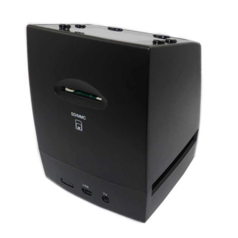 Негативная пленка сканер 5MP Разрешение 35 мм мини-пленка цифровой преобразует ЖК-дисплей слайд 2,4 дюймов TFT рисунок объявления таблички указатели US/EU