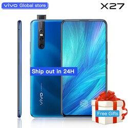 Authorized vivo celular X27 Mobile Phone Snapdragon 710 48.0MP Elevating Amazing Camera 4000mAh 8GB+256GB Cellphone
