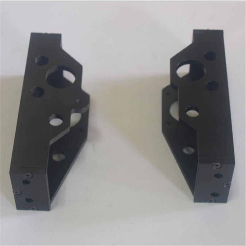 ФОТО Lulzbot TAZ4_3D printer Parts metal aluminum alloy Z-motor mount left/right side kit