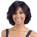 10inch short culry wavy synthetic wig natural hair Charming short Black wig for women realistic bob cut hair wig Peruca cosplay