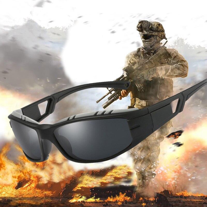 2018 Retro Outdoor Polarized Driving Sunglasses Men Tactical Goggles Sun Glasses Classic Brand Designer Travel Eyewear Oculos
