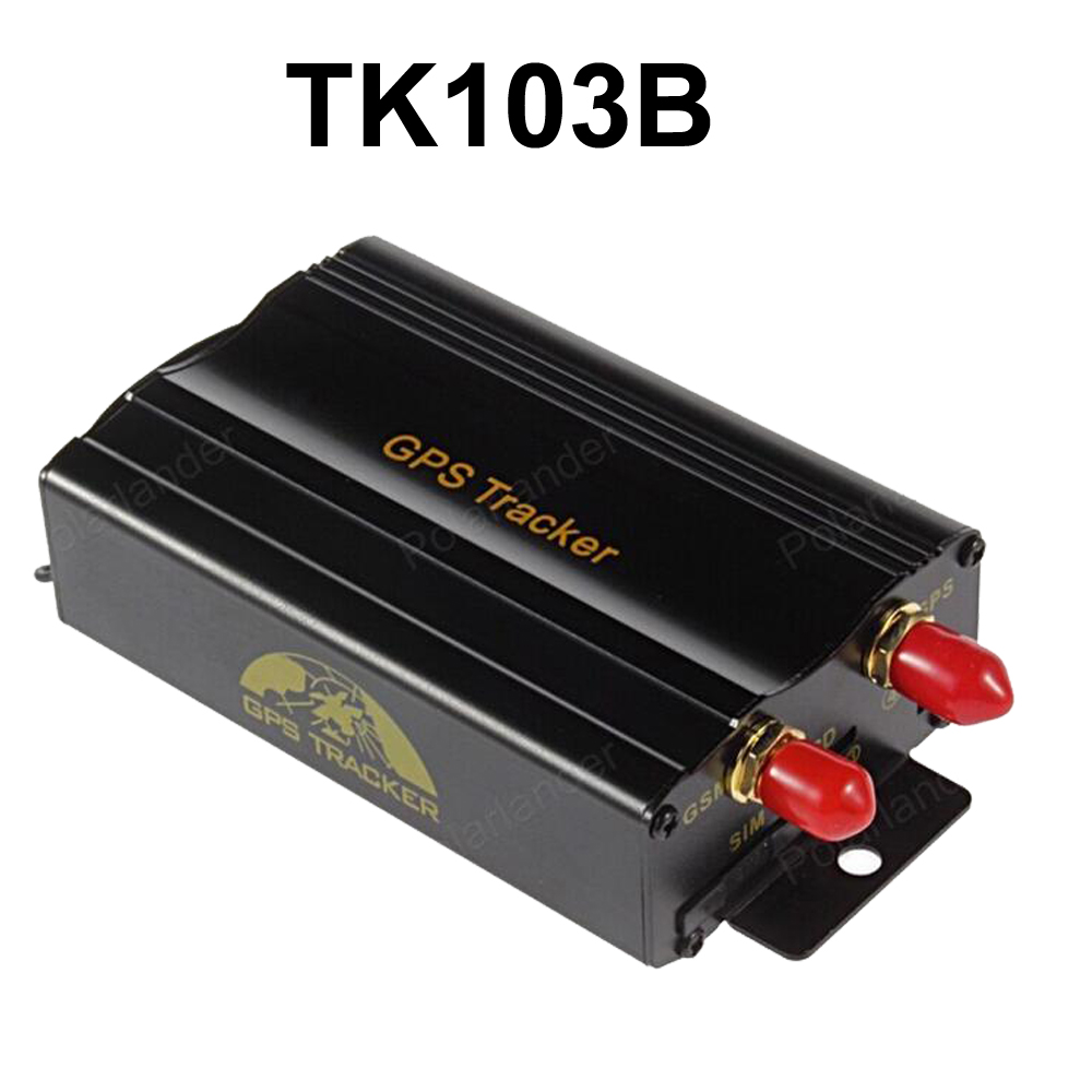 TK103B SMS GPRS Car GPS Tracker Real Time Alarm Anti theft Locator Tracking Device With Remote