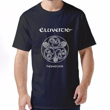 2017 New Fas hionsPrint Your Own T Shirt Short Sleeve Men Zomer Eluveitie  O-Neck Shirts