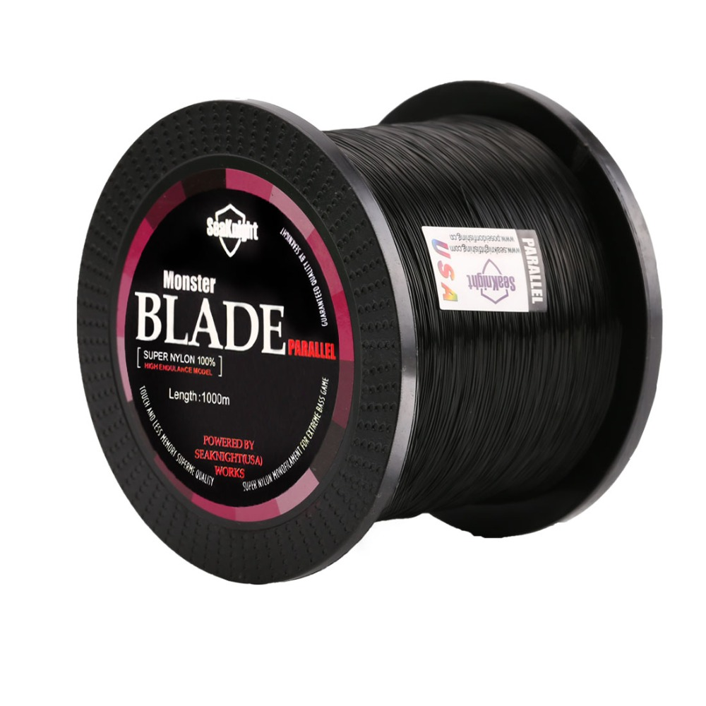 Top quality Blade Series 1000m Nylon Fishing Line 2-35LB Super Strong Fishing Line for Sea Fishing