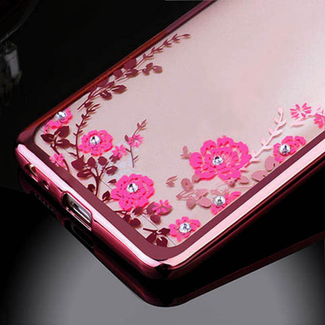 Flower Plating Soft Silicone Cover For Samsung Galaxy Note 8 10 Lite S10 A6 A8 J4 Plus J6 J8 2018 A7 J5 J7 J3 2016 A5 2017 Case