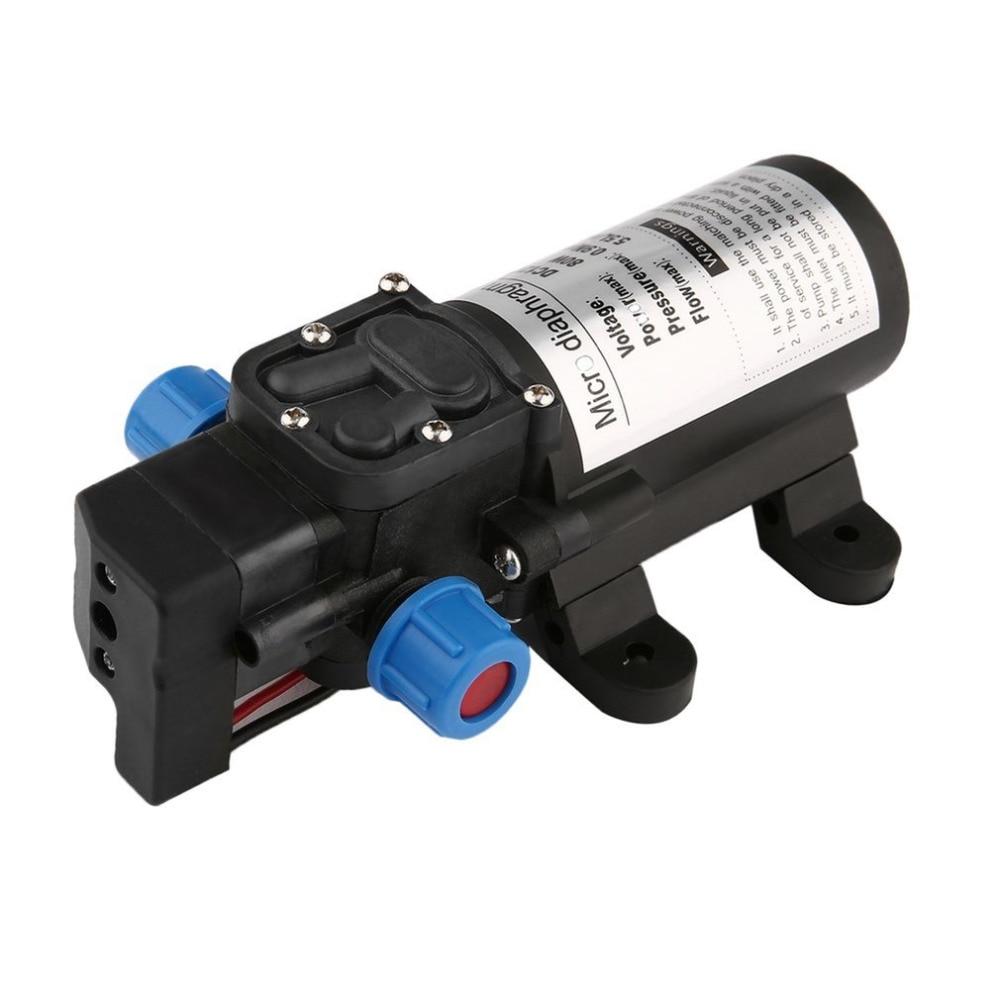 tragbare dc12v 80 watt hochdruck elektrische wasserpumpe garten pool