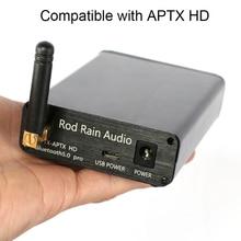 LDAC CSR8675 Bluetooth V5.0 receptor decodificador tarjeta de Audio PCM5102 DAC Audio decodificación con antena 24BIT