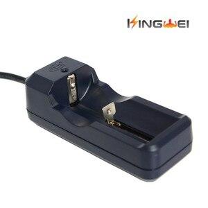 Image 5 - KingWei 1 יחידות נטענת רב סוללה מטען עבור 26650 18650 18350 14500 16340 10440