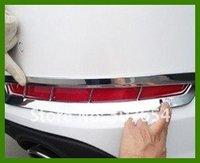 Darmowa dostawa! Wysokiej jakości chromowane tylne światła przeciwmgielne abs/lampa pokrowiec do kia Optima/K5|Chromowane wykończenia|Samochody i motocykle -