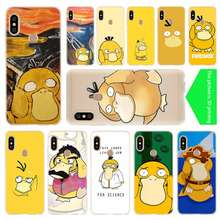 Pokemon Psyduck cover soft Silicone TPU Case For Xiaomi Redmi 3 4X 4a 5 Plus 7a 5a S2 6a 6 Note 5 6 4 7 5 K20 Pro(China)