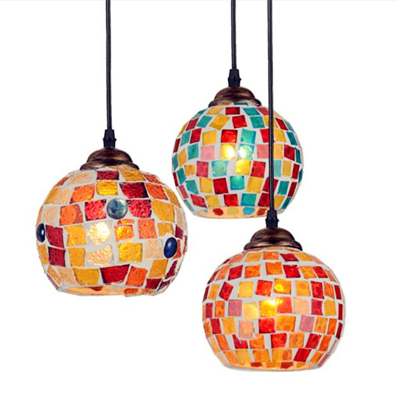 Lustres De Cristal Sala De Jantar Pendant Lights Modern Pendant Light Kitchen Lamp Loft Style Mediterranean Glass Loft Lamp fumat glass pendant lamp mediterranean style glass suspension light 3 lights art creative birds pendant lamp kitchen lighting