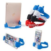Luie Mobiele Telefoon Houder Bed Duim Smartphone Tablet Accessoire Mount Stand Ondersteuning Bureau Desktop Tafel Stents Voor Huawei P9
