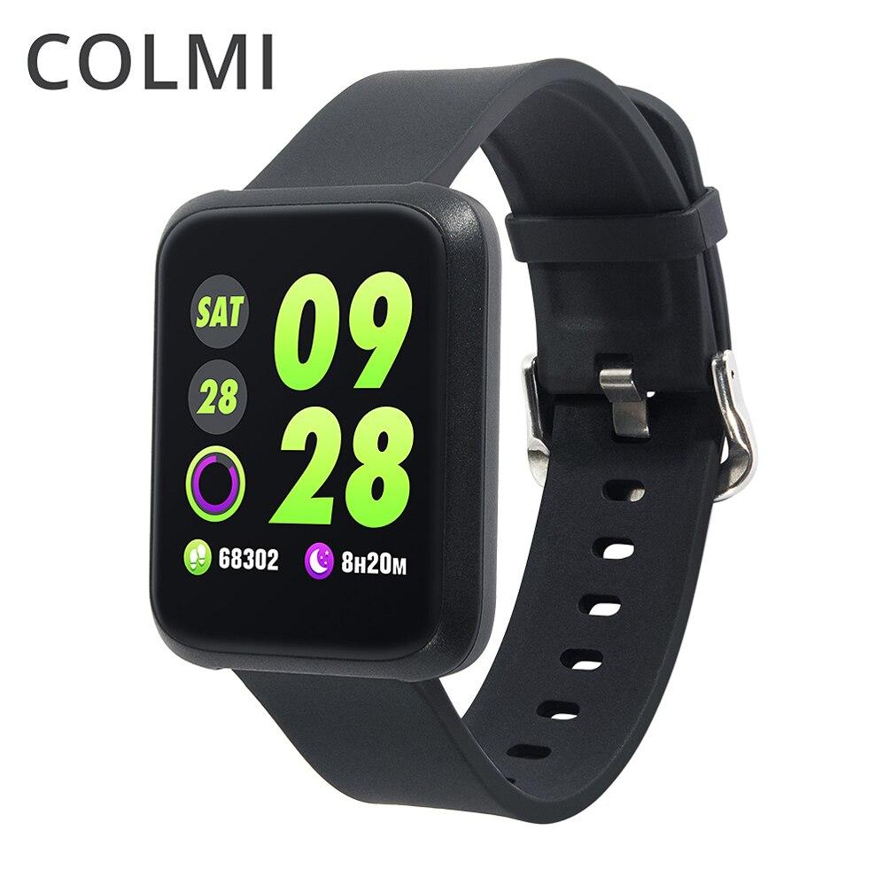 COLMI Sport Bande À Puce Montre Étanche Moniteur de Fréquence Cardiaque Fitness Bracelet Activité Tracker PK Bande Honneur pour ios Android