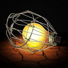 Industrial Iron Wire Bulb Guards Clamp Metal Lamp Cage Retro Trouble Light Parts(China)