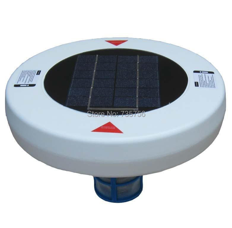 Solar pool ionizer water purifier chlorine free swimming - Swimming pool ionizer ...