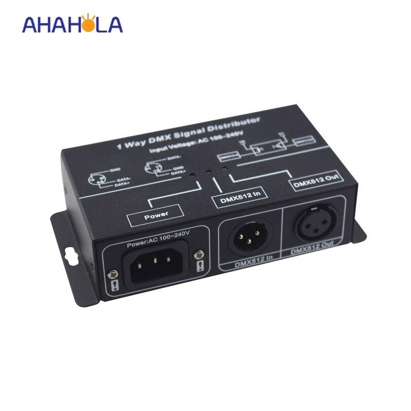 Dmx 512 Signalverstärker Für Digitale Rgb Lichter Mit Traditionellen Methoden Temperamentvoll 1 Kanal Dmx Signal Händler Eingangs Ac100-240v