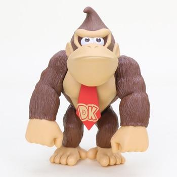 Super Mario Bros Bowser Koopa Yoshi Mario Action Figures Luigi Donkey Kong   8~15cm