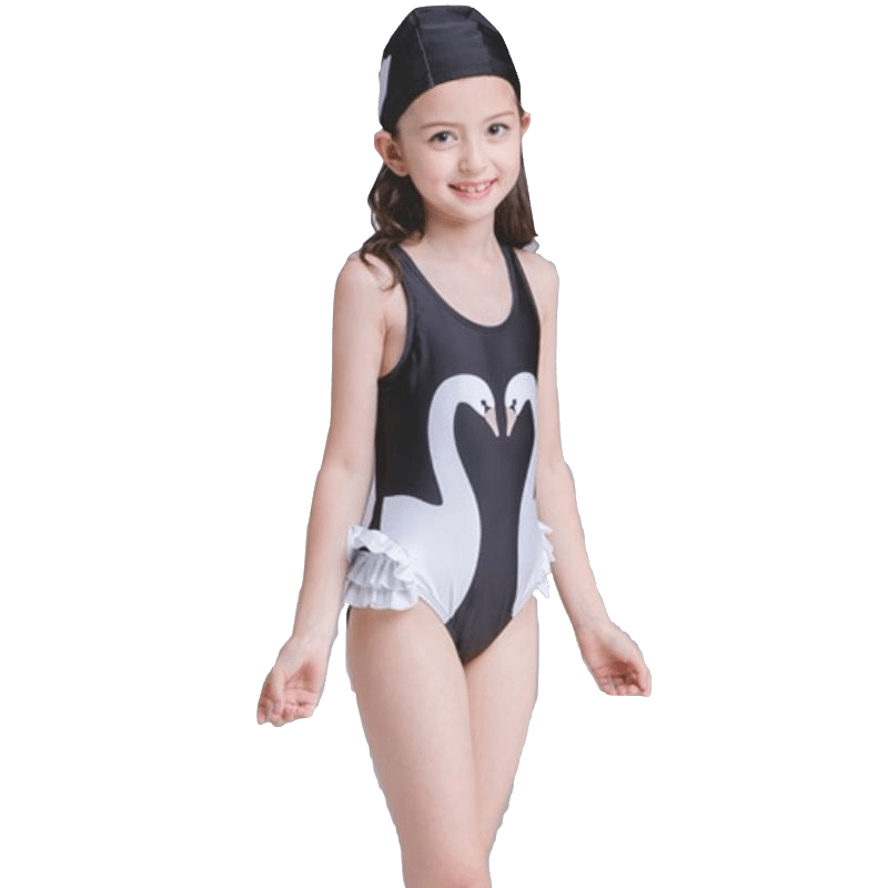 2018 Girl Kid Print One piece Swimwear Bodysuit Children Cute Swimsuit Swim Bathing Suit Bather Pool Beach Swimming Wear Jammers