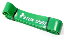 4.4cm Width Gym Premium Latex Pull Up Body Bands CrossFit Loop Resistance Band - 50 to 125 Pounds of Green