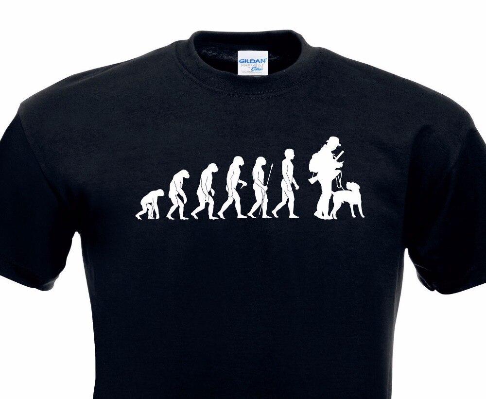 Футболки с круглым вырезом принт Для мужчин Горячая Эволюция футболка Hunter снимков участок получен лес shotcasual хлопковая футболка