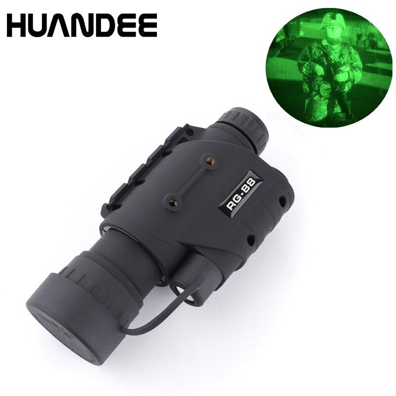 2017 RG-88 5X50 infrared Night vision riflescope, Night vision monocular,  Night vision scope NV006 yunok sentinel 2 5x50 night vision riflescopes generation 1 infrared illuminator monocular hunting rifle scope tube based
