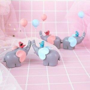 Image 5 - Leuke Ballon Vogel Olifant Animal Party Cake Topper Baby Shower Jongen Meisje Verjaardagsfeestje Decoraties Kids Gelukkige Verjaardag Geschenken