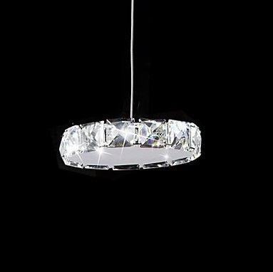 1 Light LED Modern K9 Crystal Pendant Light For Home Lighting,Lustres De Sala,Lustre De cristal,90V~260V,Bulb Included modern fashion luxury led crystal pendant lamp 6 bulb home deco dinning room lustres de cristal sala teto pendant light fixture
