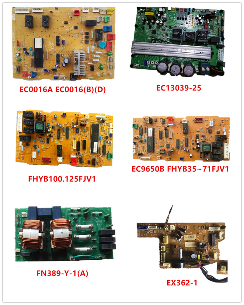 EC0016A EC0016(B)(D)| EC13039-25| FHYB100.125FJV1 | EC9650B FHYB35~71FJV1| FN389-Y-1(A)| EX362-1 Used Working
