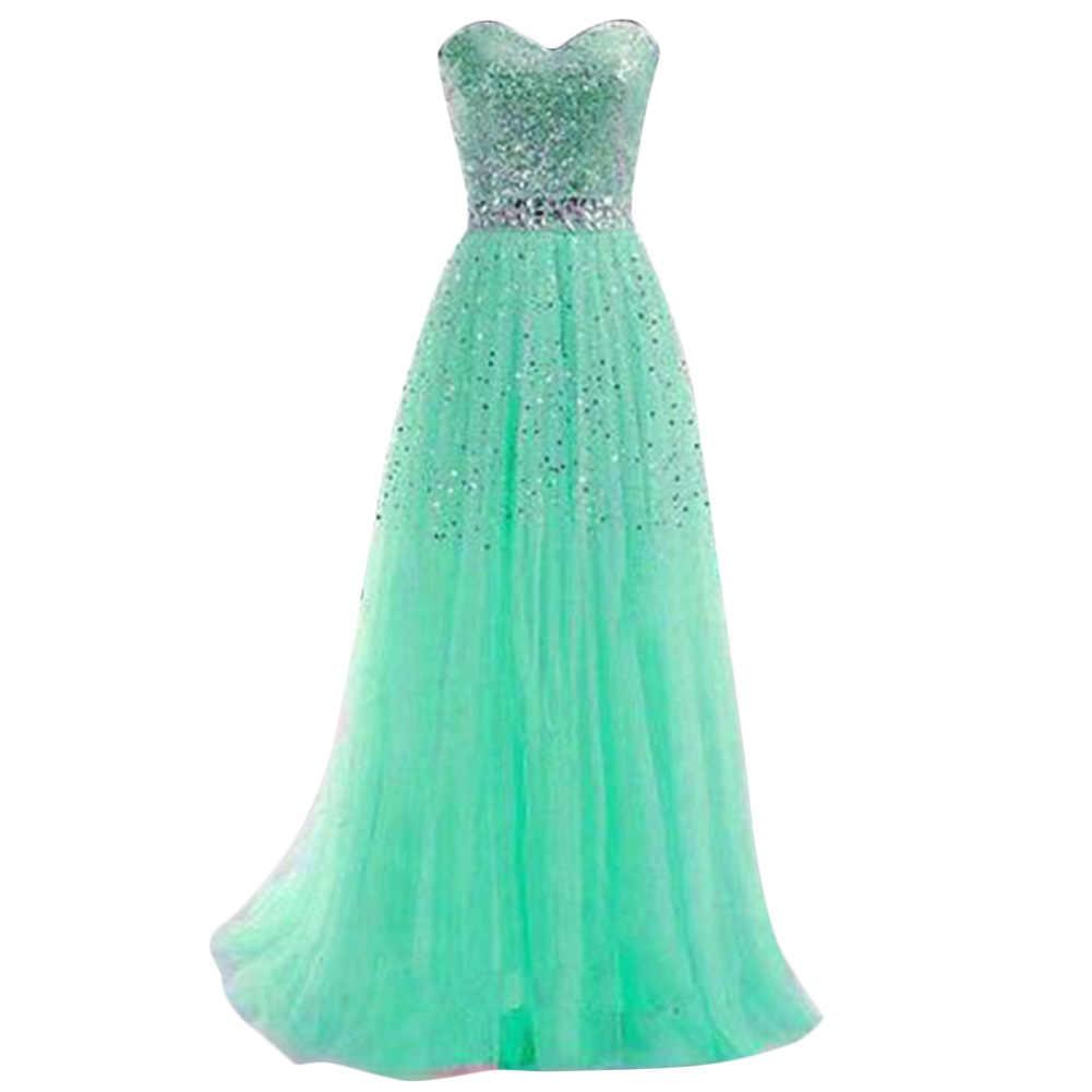 Frühjahr/Sommer Sexy Spitze Liebsten Kleid für Party Abendkleid