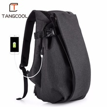 "Tangcool Brand Men Travel Laptop Backpack 15.6"" 17.3"" Computer Waterproof Fashion College Casual Men's Backpacks School Bag New(China)"